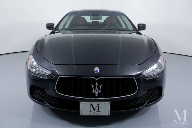 Used 2015 Maserati Ghibli Base 4dr Sedan for sale Sold at Metrolina Auto Group in Charlotte NC 28217 - 3