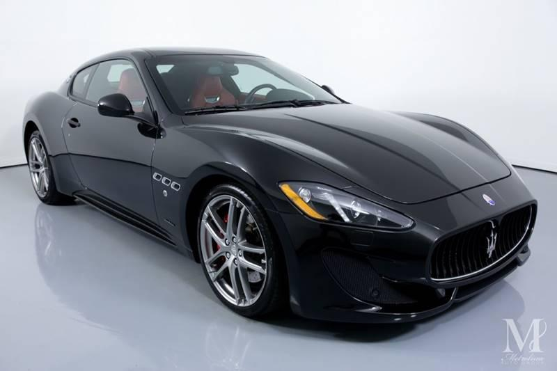 Used 2015 Maserati GranTurismo Sport 2dr Coupe for sale Sold at Metrolina Auto Group in Charlotte NC 28217 - 2