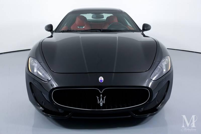 Used 2015 Maserati GranTurismo Sport 2dr Coupe for sale Sold at Metrolina Auto Group in Charlotte NC 28217 - 3