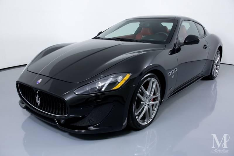 Used 2015 Maserati GranTurismo Sport 2dr Coupe for sale Sold at Metrolina Auto Group in Charlotte NC 28217 - 4