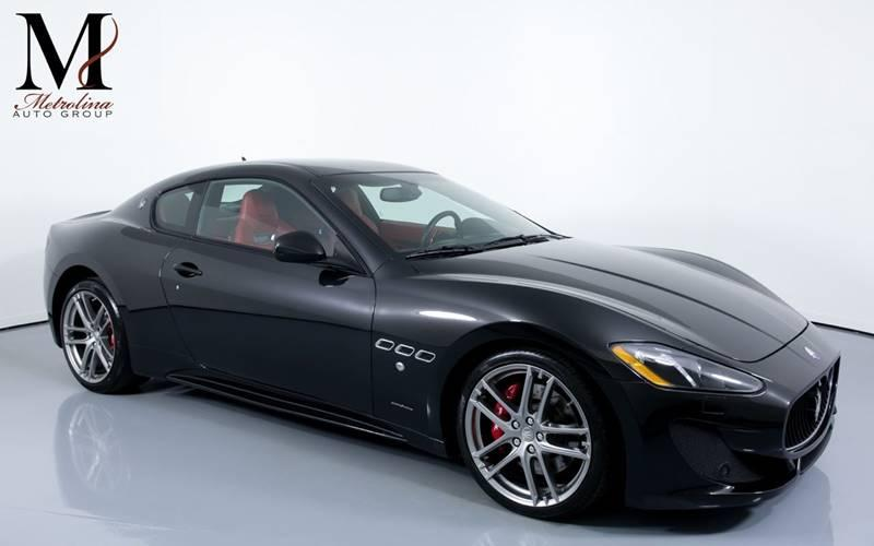 Used 2015 Maserati GranTurismo Sport 2dr Coupe for sale Sold at Metrolina Auto Group in Charlotte NC 28217 - 1