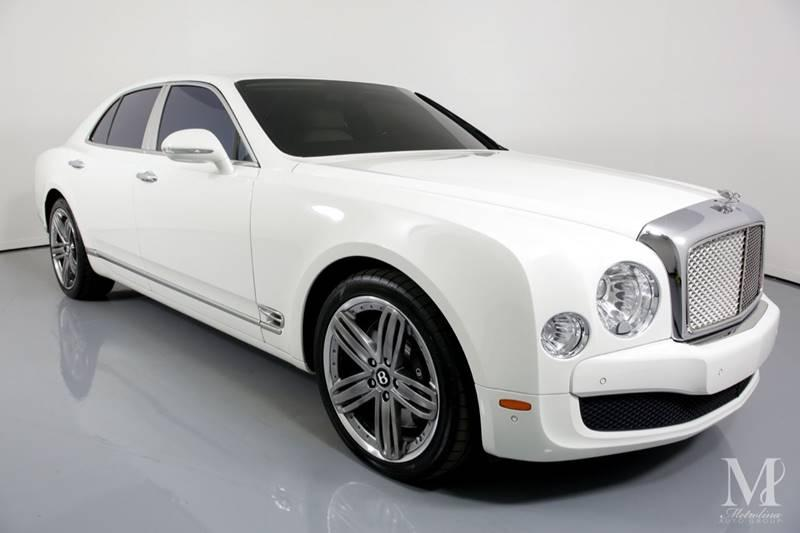Used 2013 Bentley Mulsanne Base 4dr Sedan for sale Sold at Metrolina Auto Group in Charlotte NC 28217 - 2
