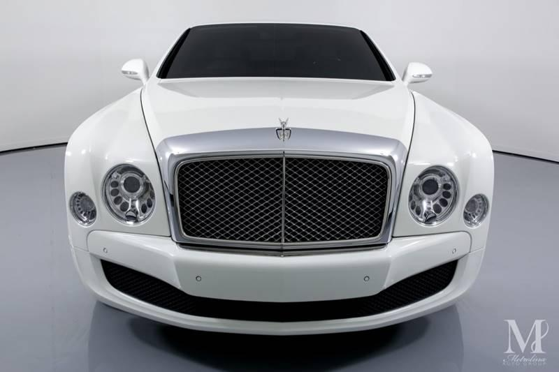 Used 2013 Bentley Mulsanne Base 4dr Sedan for sale Sold at Metrolina Auto Group in Charlotte NC 28217 - 3