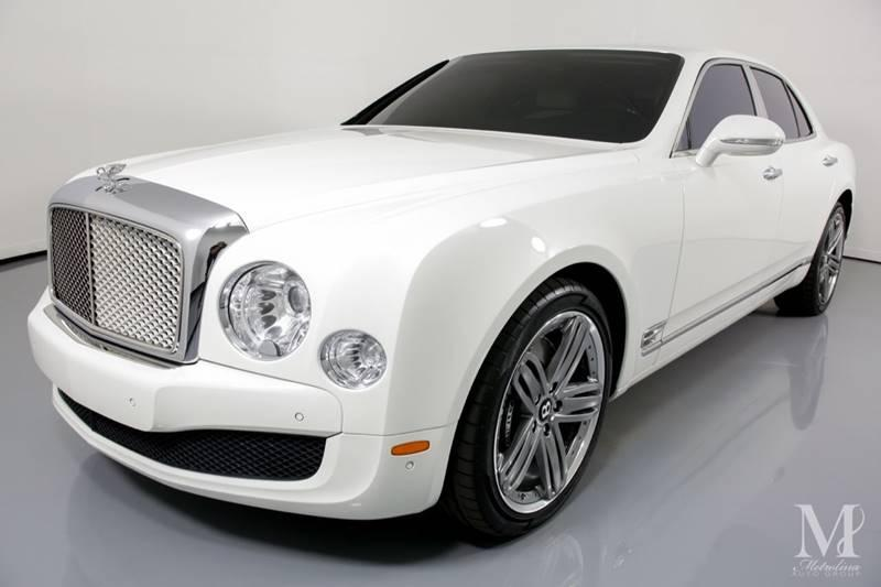 Used 2013 Bentley Mulsanne Base 4dr Sedan for sale Sold at Metrolina Auto Group in Charlotte NC 28217 - 4