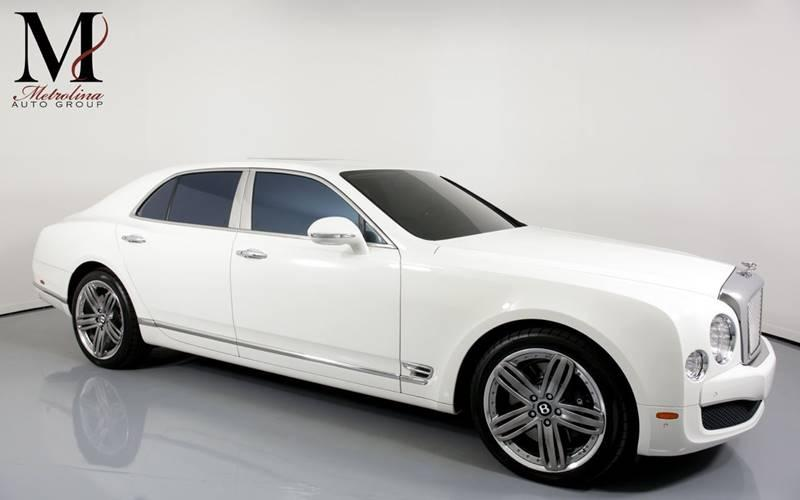 Used 2013 Bentley Mulsanne Base 4dr Sedan for sale Sold at Metrolina Auto Group in Charlotte NC 28217 - 1