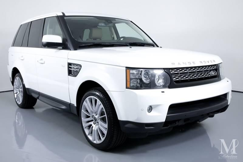 Used 2012 Land Rover Range Rover Sport HSE LUX 4x4 4dr SUV for sale Sold at Metrolina Auto Group in Charlotte NC 28217 - 2