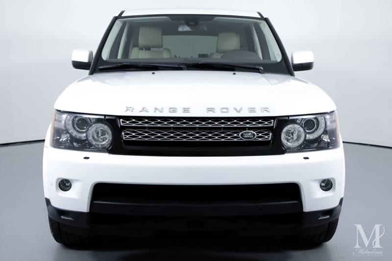 Used 2012 Land Rover Range Rover Sport HSE LUX 4x4 4dr SUV for sale Sold at Metrolina Auto Group in Charlotte NC 28217 - 3