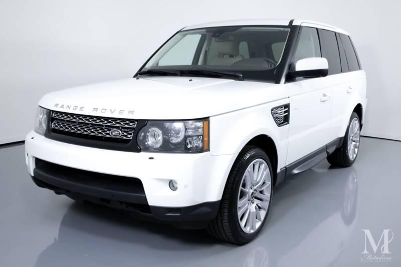 Used 2012 Land Rover Range Rover Sport HSE LUX 4x4 4dr SUV for sale Sold at Metrolina Auto Group in Charlotte NC 28217 - 4