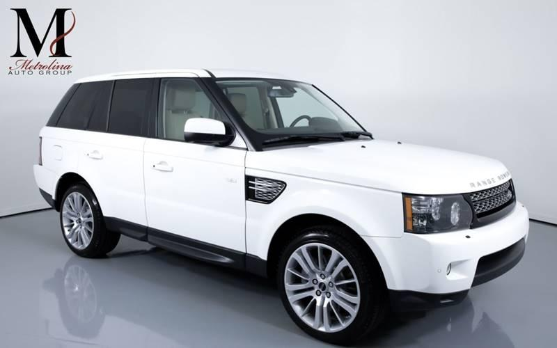 Used 2012 Land Rover Range Rover Sport HSE LUX 4x4 4dr SUV for sale Sold at Metrolina Auto Group in Charlotte NC 28217 - 1