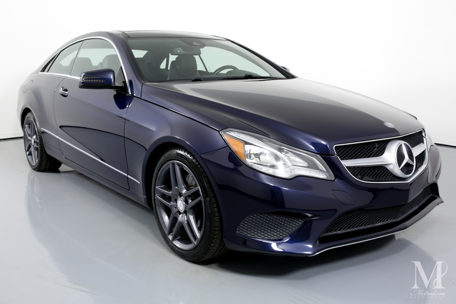 Used 2014 Mercedes-Benz E-Class E 350 4MATIC AWD 2dr Coupe for sale $21,750 at Metrolina Auto Group in Charlotte NC 28217 - 2