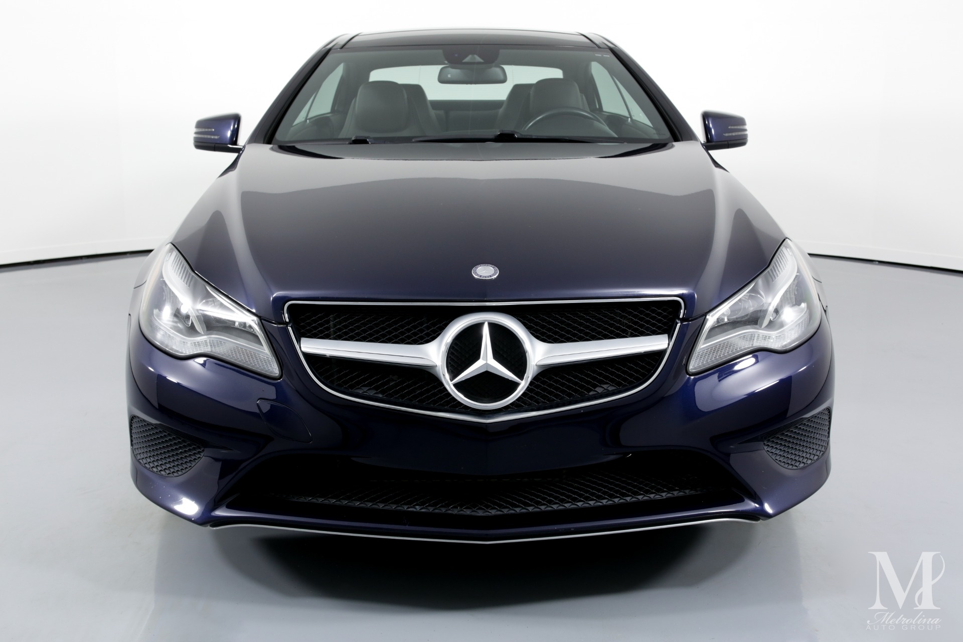 Used 2014 Mercedes-Benz E-Class E 350 4MATIC AWD 2dr Coupe for sale Sold at Metrolina Auto Group in Charlotte NC 28217 - 3