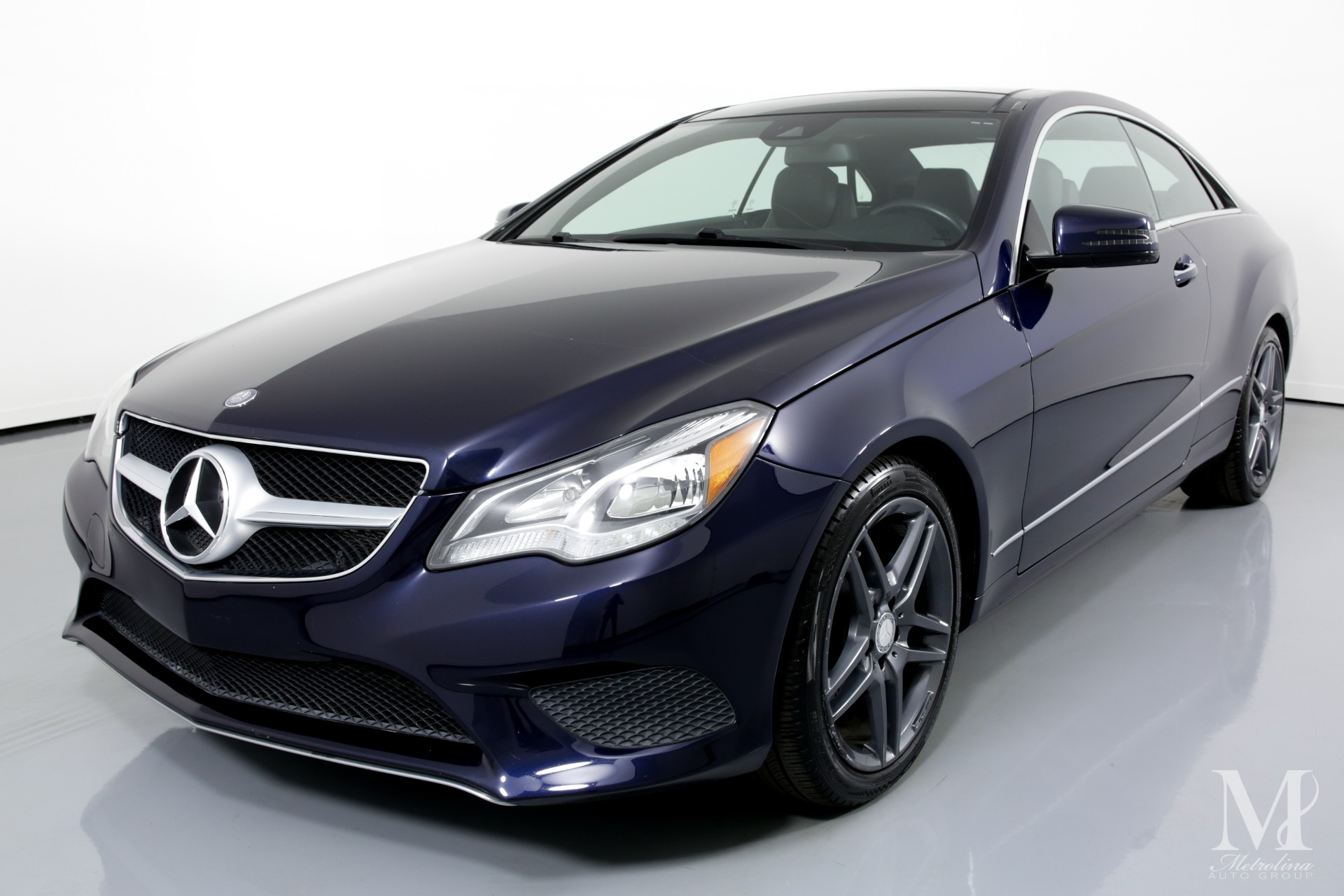 Used 2014 Mercedes-Benz E-Class E 350 4MATIC AWD 2dr Coupe for sale $21,750 at Metrolina Auto Group in Charlotte NC 28217 - 4