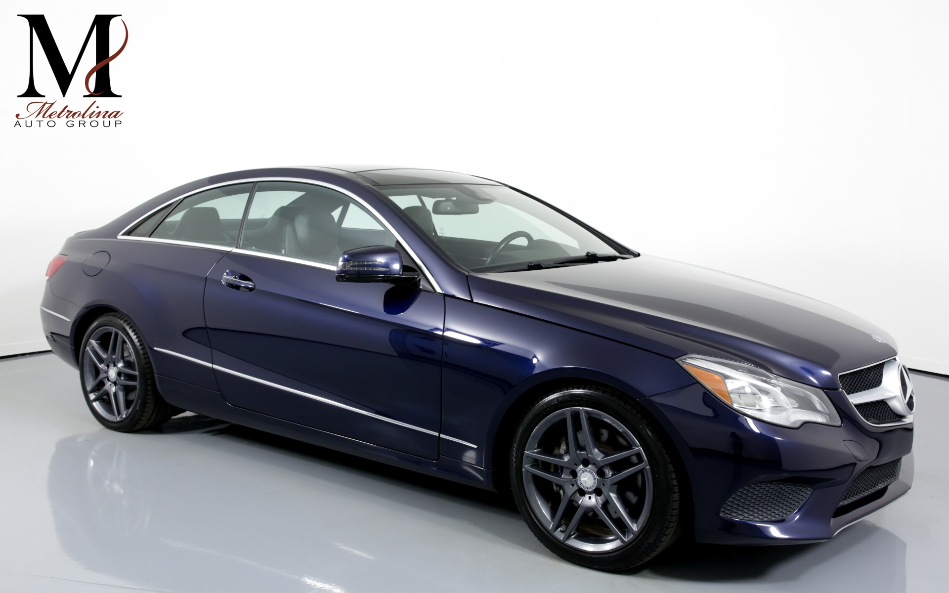 Used 2014 Mercedes-Benz E-Class E 350 4MATIC AWD 2dr Coupe for sale Sold at Metrolina Auto Group in Charlotte NC 28217 - 1