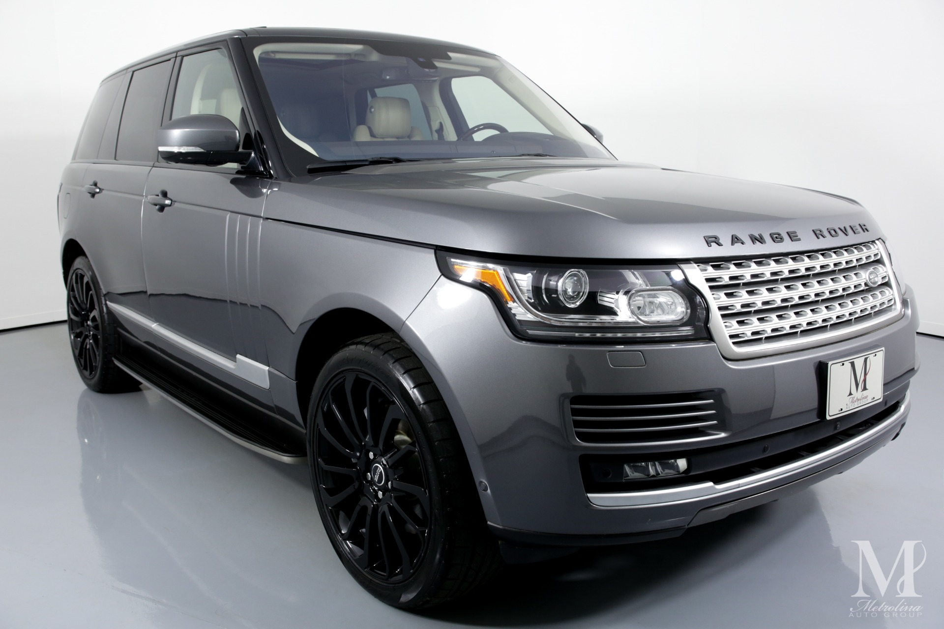 Used 2016 Land Rover Range Rover HSE AWD 4dr SUV for sale Sold at Metrolina Auto Group in Charlotte NC 28217 - 2