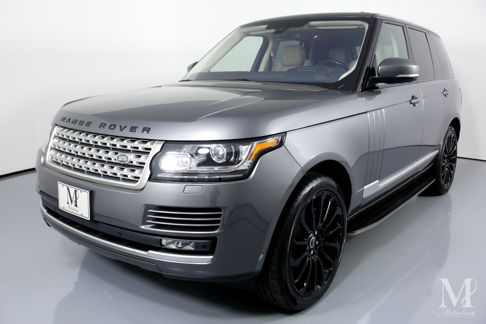 Used 2016 Land Rover Range Rover HSE AWD 4dr SUV for sale Sold at Metrolina Auto Group in Charlotte NC 28217 - 4