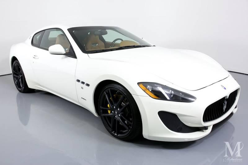 Used 2016 Maserati GranTurismo Sport 2dr Coupe for sale Sold at Metrolina Auto Group in Charlotte NC 28217 - 2