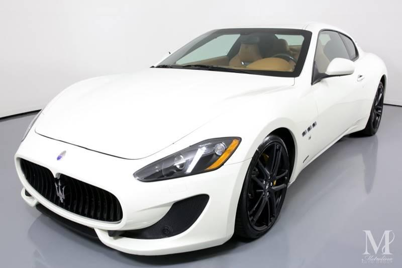 Used 2016 Maserati GranTurismo Sport 2dr Coupe for sale Sold at Metrolina Auto Group in Charlotte NC 28217 - 4