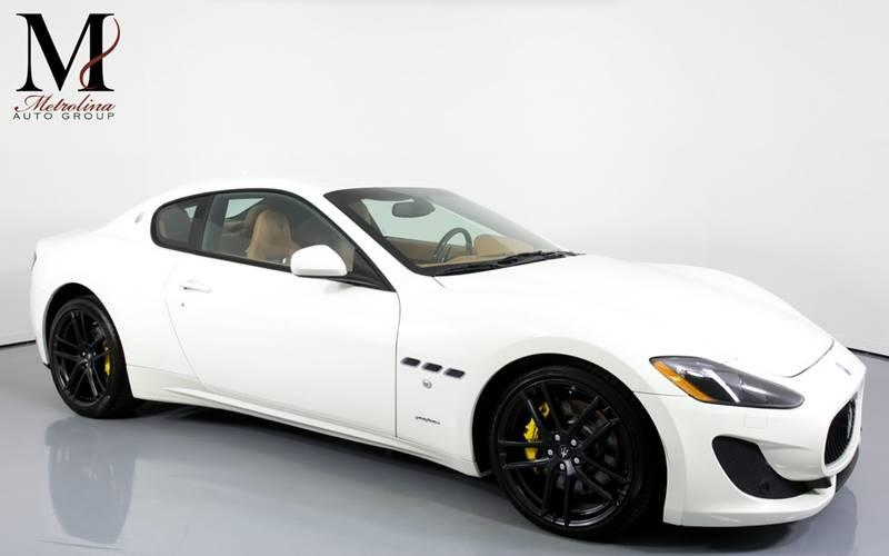 Used 2016 Maserati GranTurismo Sport 2dr Coupe for sale Sold at Metrolina Auto Group in Charlotte NC 28217 - 1