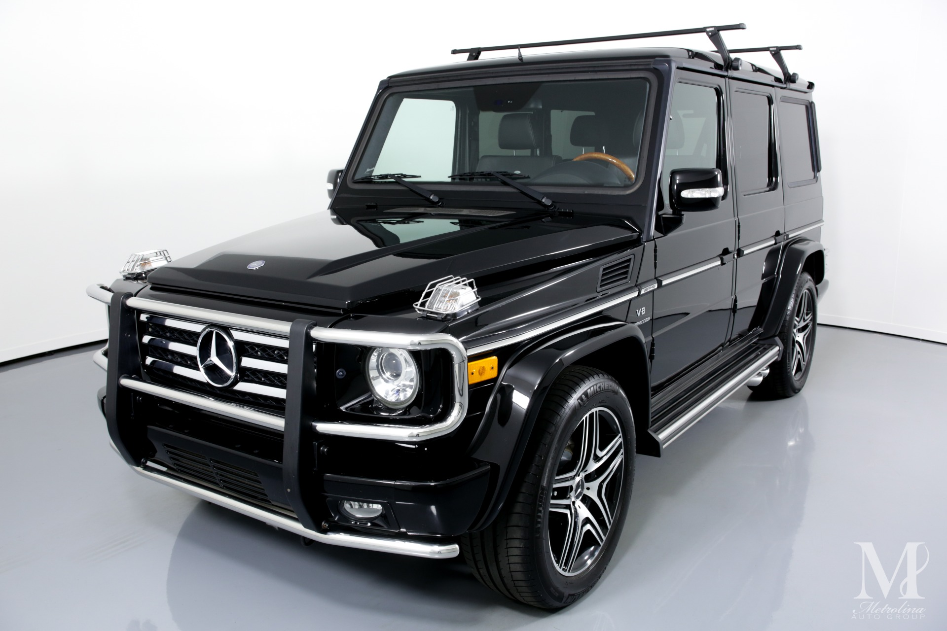 Used 2010 Mercedes-Benz G-Class G 55 AMG AWD 4MATIC 4dr SUV for sale $49,996 at Metrolina Auto Group in Charlotte NC 28217 - 4