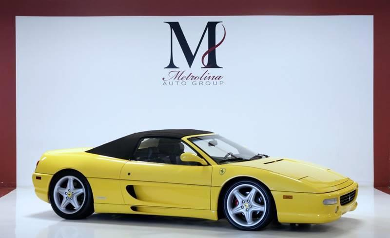 Used 1998 Ferrari F355 SPIDER for sale Sold at Metrolina Auto Group in Charlotte NC 28217 - 2