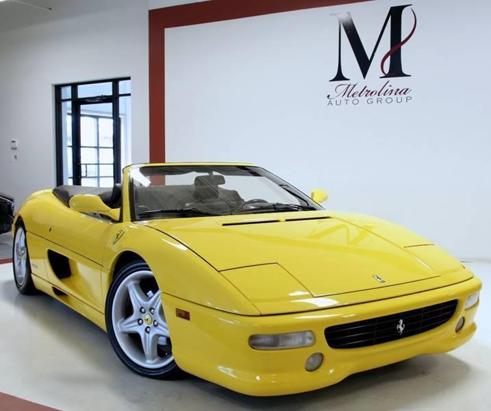 Used 1998 Ferrari F355 SPIDER for sale Sold at Metrolina Auto Group in Charlotte NC 28217 - 3