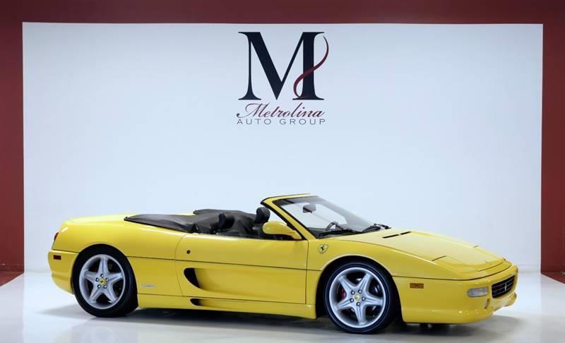 Used 1998 Ferrari F355 SPIDER for sale Sold at Metrolina Auto Group in Charlotte NC 28217 - 1