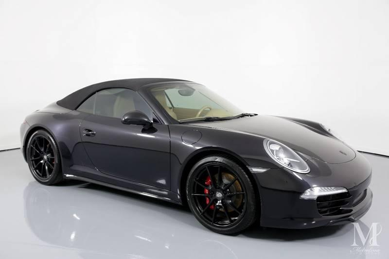 Used 2013 Porsche 911 Carrera 4S AWD 2dr Convertible for sale Sold at Metrolina Auto Group in Charlotte NC 28217 - 2