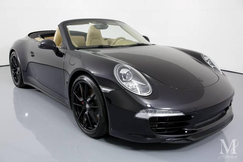 Used 2013 Porsche 911 Carrera 4S AWD 2dr Convertible for sale Sold at Metrolina Auto Group in Charlotte NC 28217 - 3