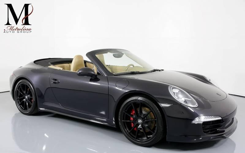 Used 2013 Porsche 911 Carrera 4S AWD 2dr Convertible for sale Sold at Metrolina Auto Group in Charlotte NC 28217 - 1