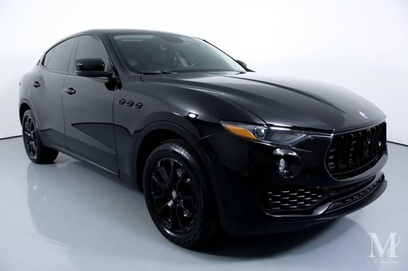 Used 2017 Maserati Levante Base AWD 4dr SUV for sale Sold at Metrolina Auto Group in Charlotte NC 28217 - 2