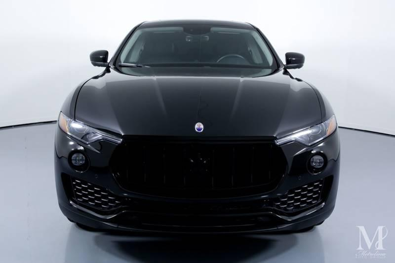 Used 2017 Maserati Levante Base AWD 4dr SUV for sale Sold at Metrolina Auto Group in Charlotte NC 28217 - 3