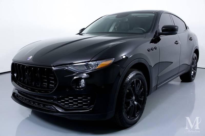 Used 2017 Maserati Levante Base AWD 4dr SUV for sale Sold at Metrolina Auto Group in Charlotte NC 28217 - 4