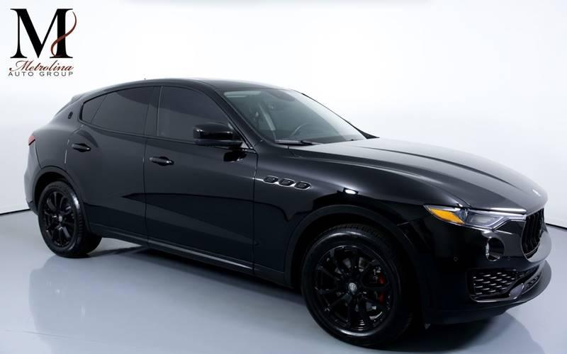 Used 2017 Maserati Levante Base AWD 4dr SUV for sale Sold at Metrolina Auto Group in Charlotte NC 28217 - 1
