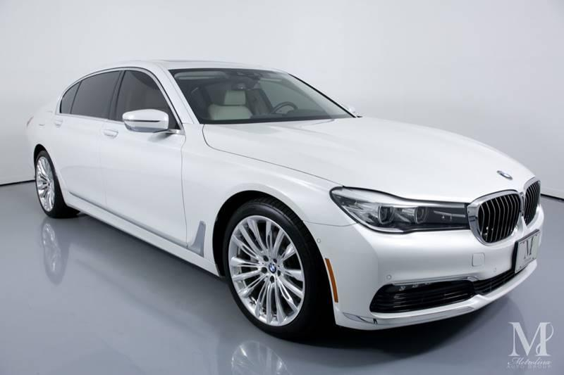 Used 2017 BMW 7 Series 740i xDrive AWD 4dr Sedan for sale Sold at Metrolina Auto Group in Charlotte NC 28217 - 2