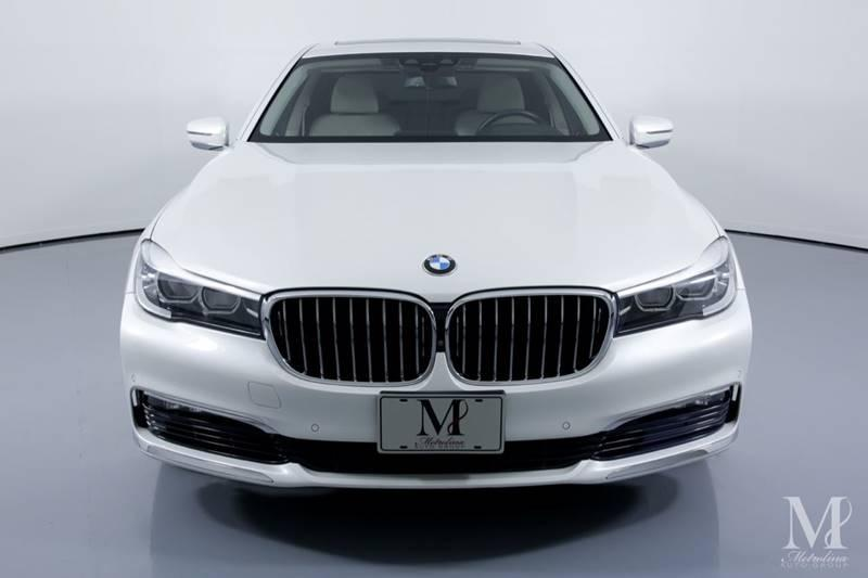 Used 2017 BMW 7 Series 740i xDrive AWD 4dr Sedan for sale Sold at Metrolina Auto Group in Charlotte NC 28217 - 3