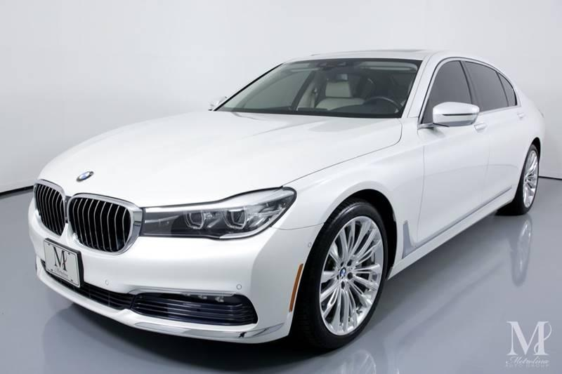 Used 2017 BMW 7 Series 740i xDrive AWD 4dr Sedan for sale Sold at Metrolina Auto Group in Charlotte NC 28217 - 4