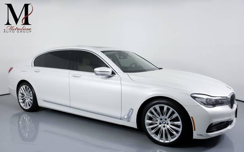 Used 2017 BMW 7 Series 740i xDrive AWD 4dr Sedan for sale Sold at Metrolina Auto Group in Charlotte NC 28217 - 1