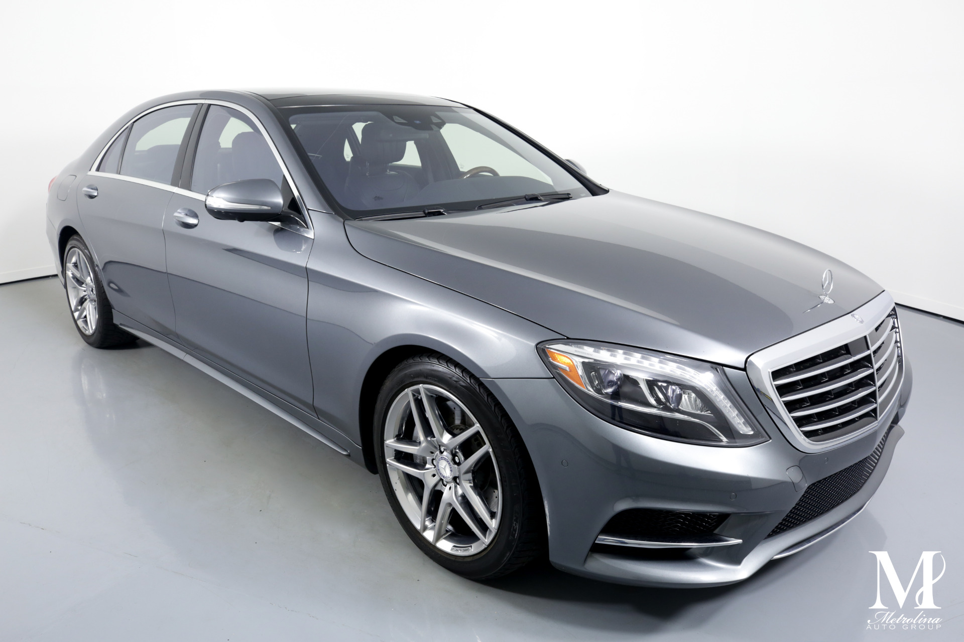 Used 2017 Mercedes-Benz S-Class S 550 4MATIC AWD 4dr Sedan for sale Sold at Metrolina Auto Group in Charlotte NC 28217 - 2
