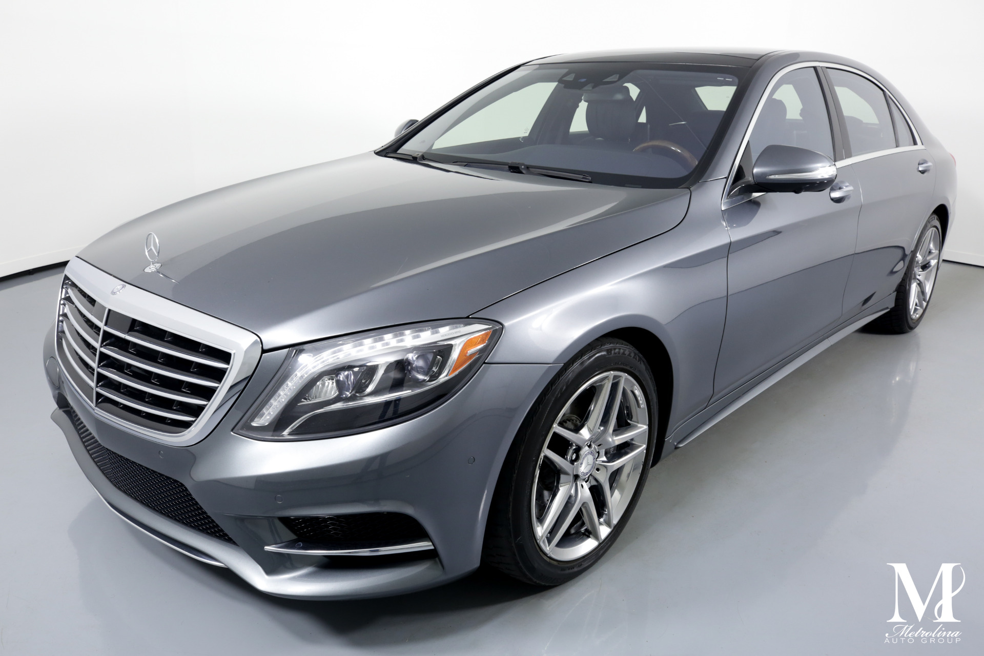 Used 2017 Mercedes-Benz S-Class S 550 4MATIC AWD 4dr Sedan for sale Sold at Metrolina Auto Group in Charlotte NC 28217 - 4