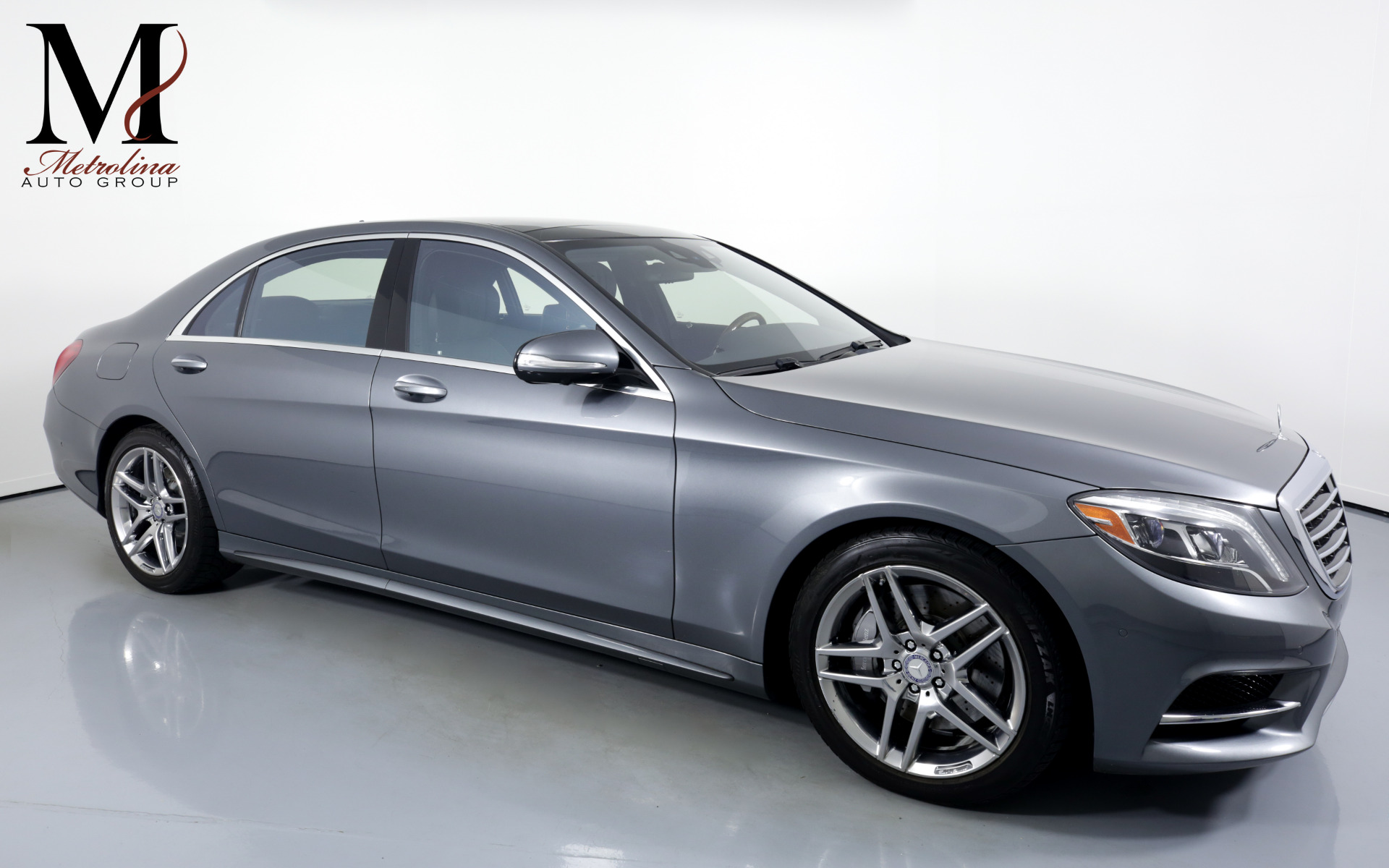 Used 2017 Mercedes-Benz S-Class S 550 4MATIC AWD 4dr Sedan for sale Sold at Metrolina Auto Group in Charlotte NC 28217 - 1