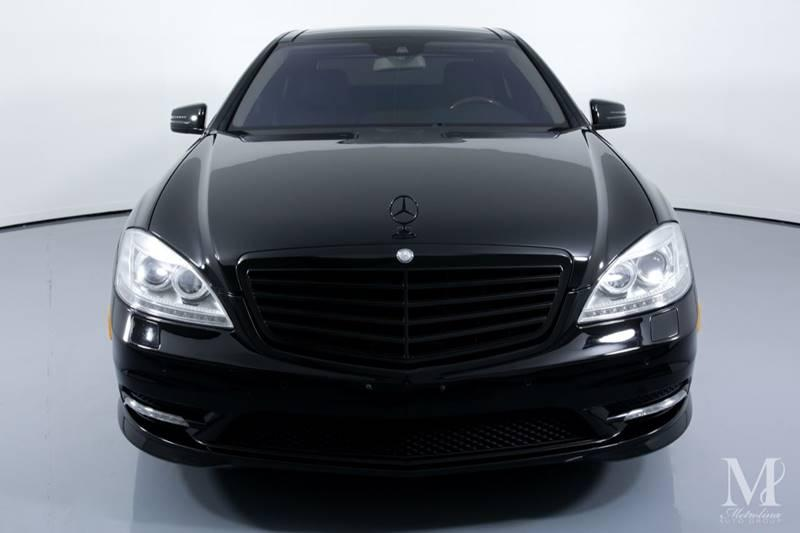 Used 2011 Mercedes-Benz S-Class S 550 4dr Sedan for sale Sold at Metrolina Auto Group in Charlotte NC 28217 - 3
