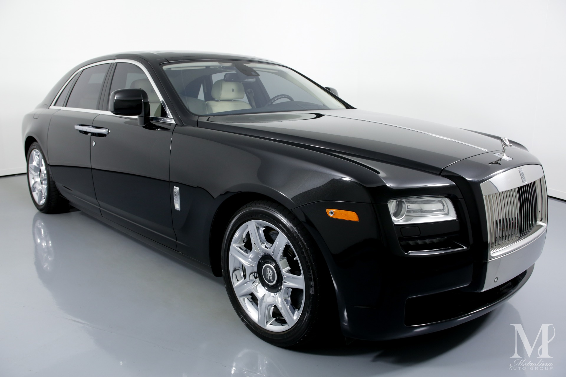 Used 2011 Rolls-Royce Ghost Base 4dr Sedan for sale Sold at Metrolina Auto Group in Charlotte NC 28217 - 2