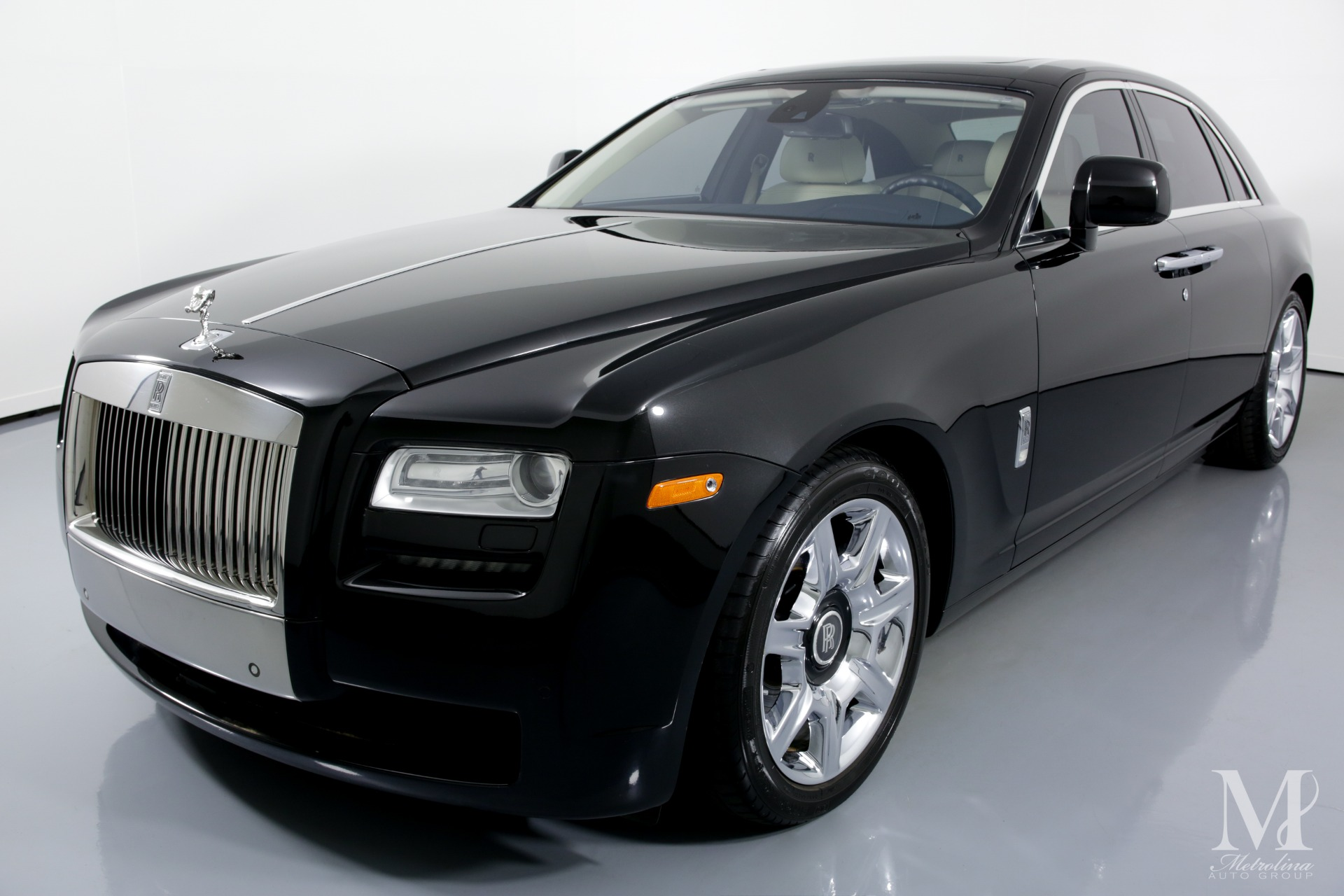 Used 2011 Rolls-Royce Ghost Base 4dr Sedan for sale Sold at Metrolina Auto Group in Charlotte NC 28217 - 4