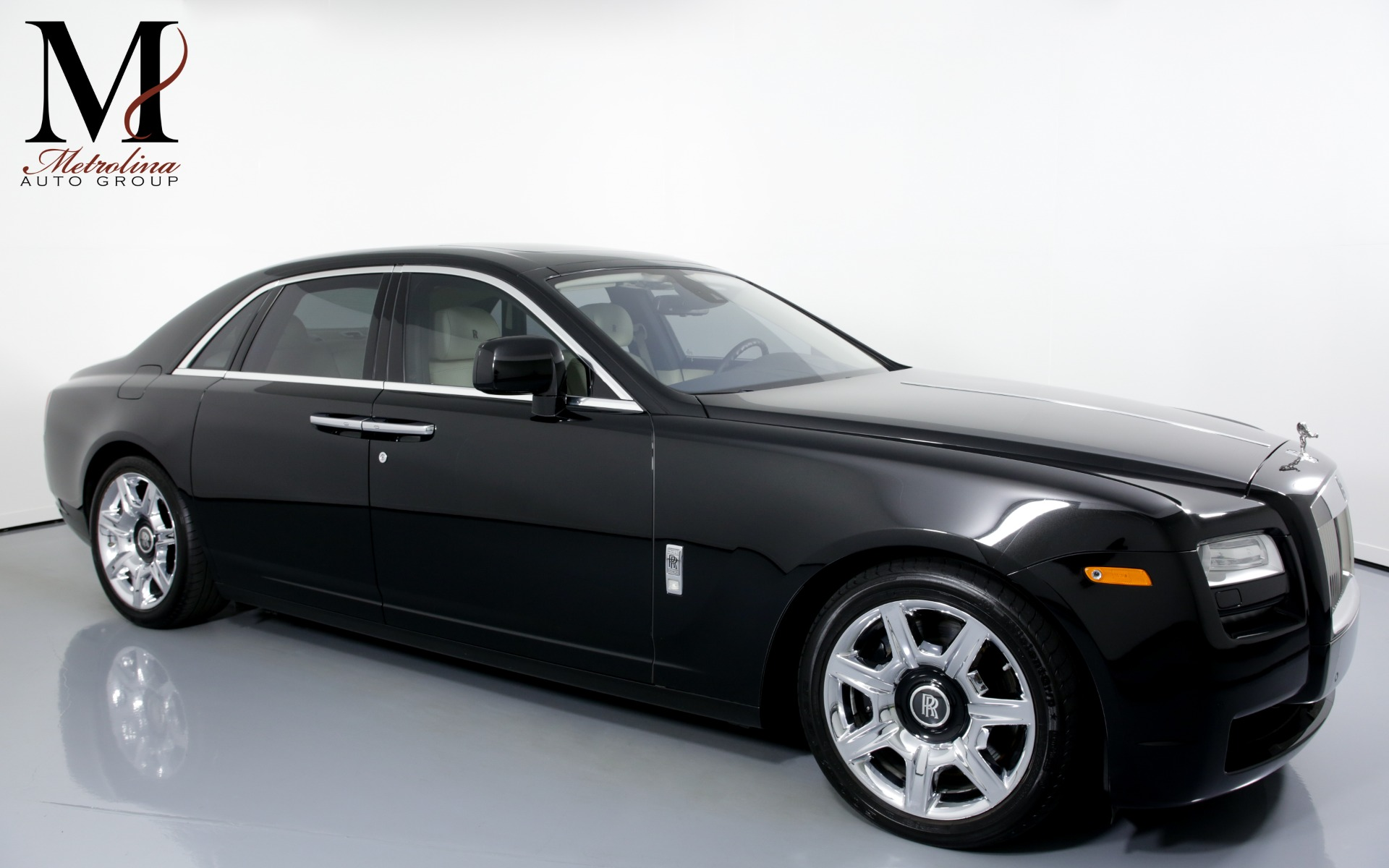 Used 2011 Rolls-Royce Ghost Base 4dr Sedan for sale Sold at Metrolina Auto Group in Charlotte NC 28217 - 1