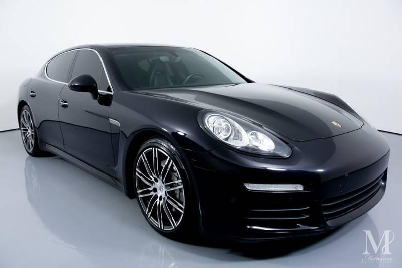 Used 2015 Porsche Panamera S 4dr Sedan for sale Sold at Metrolina Auto Group in Charlotte NC 28217 - 2