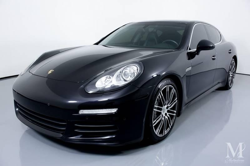 Used 2015 Porsche Panamera S 4dr Sedan for sale Sold at Metrolina Auto Group in Charlotte NC 28217 - 4