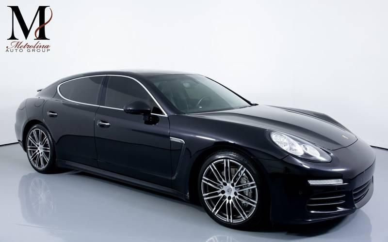 Used 2015 Porsche Panamera S 4dr Sedan for sale Sold at Metrolina Auto Group in Charlotte NC 28217 - 1