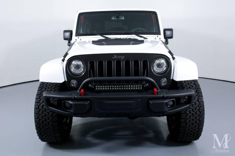 Used 2017 Jeep Wrangler Unlimited Rubicon Recon 4x4 4dr SUV for sale Sold at Metrolina Auto Group in Charlotte NC 28217 - 3