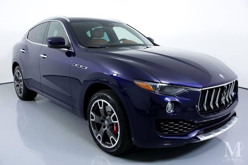 Used 2017 Maserati Levante S AWD 4dr SUV for sale Sold at Metrolina Auto Group in Charlotte NC 28217 - 2