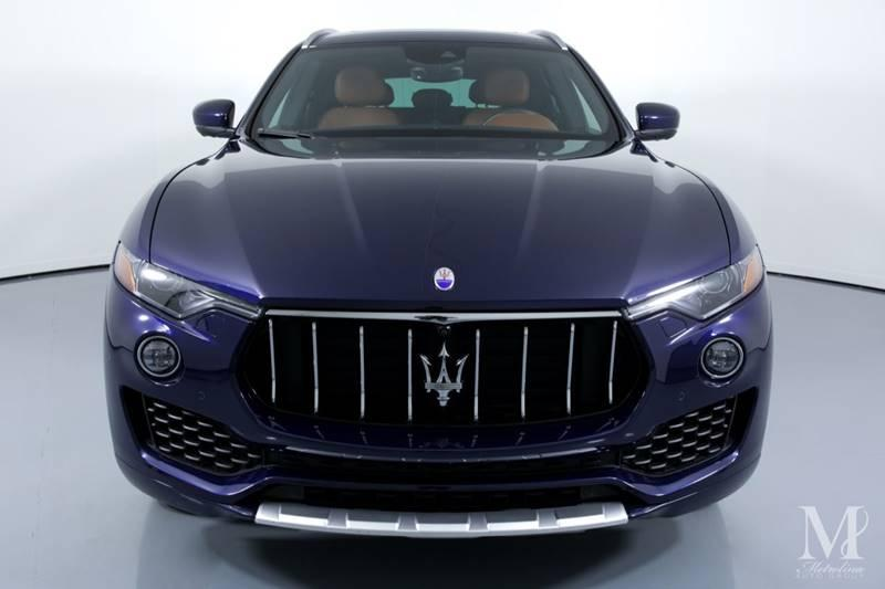 Used 2017 Maserati Levante S AWD 4dr SUV for sale Sold at Metrolina Auto Group in Charlotte NC 28217 - 3